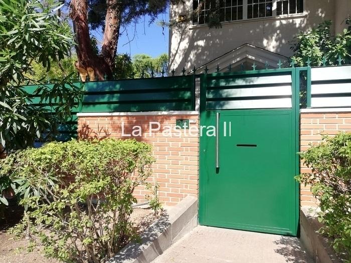 Puerta residencial